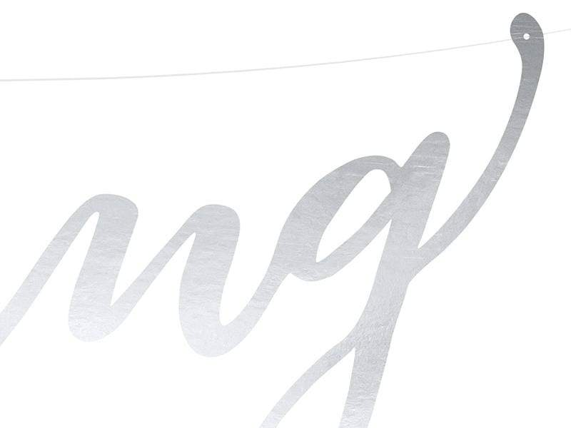 Wedding Banner Graland - Silver