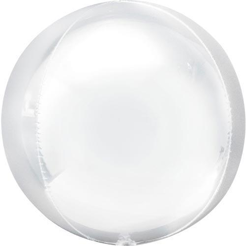 White Orb Balloon | White Orbz Wedding Balloons