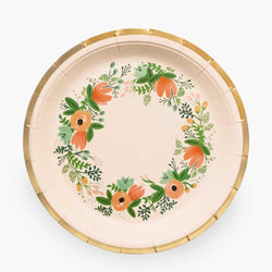 Wildflower Party Large Paper Plates (Pack of 10)