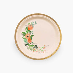 Wildflower Party Small Paper Plates (Pack of 10)