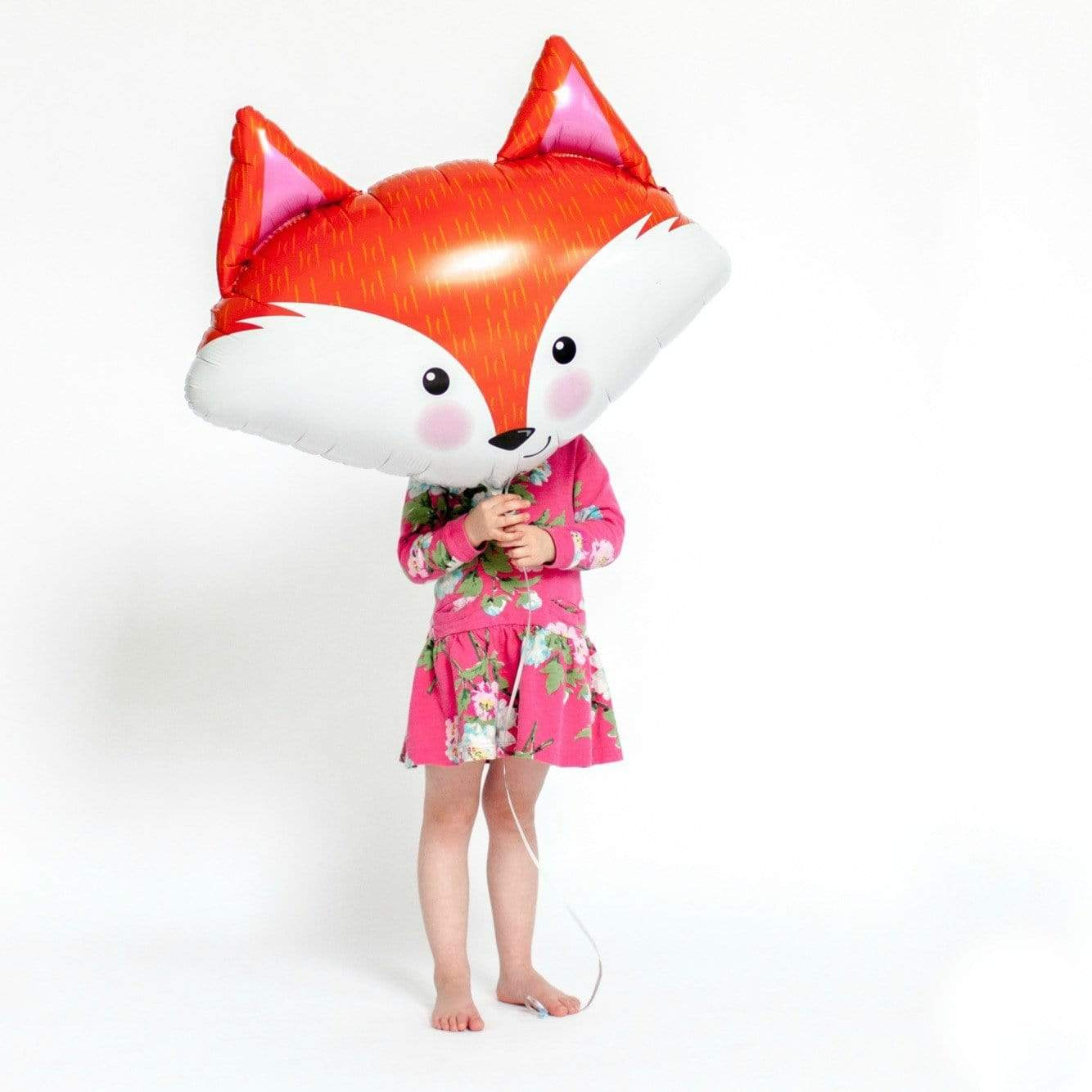 Fox Balloon | Woodland party | Giant foil Balloon Shapes UK