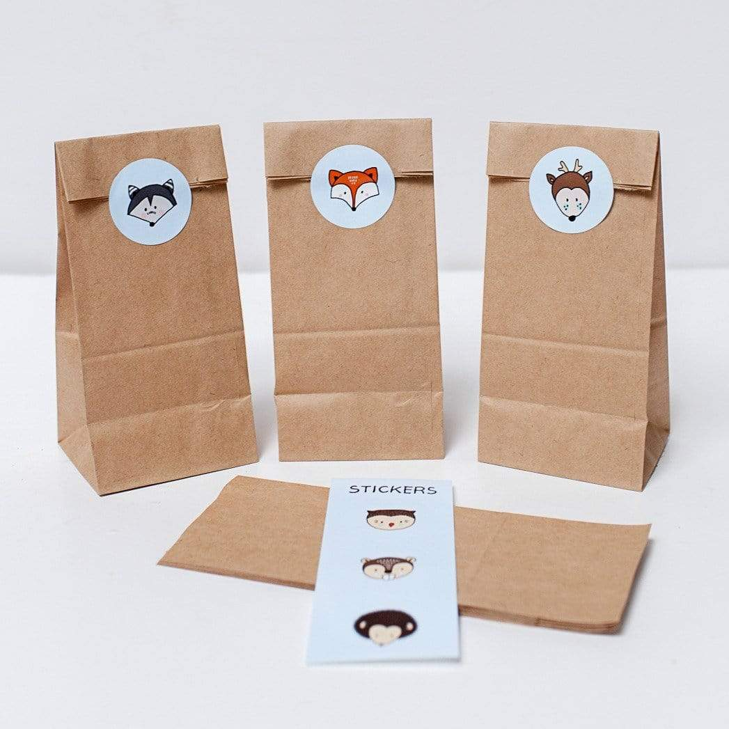 Woodland Party Bags | Woodland Treat bags