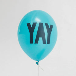 Yay Balloons Teal (5 Pack)