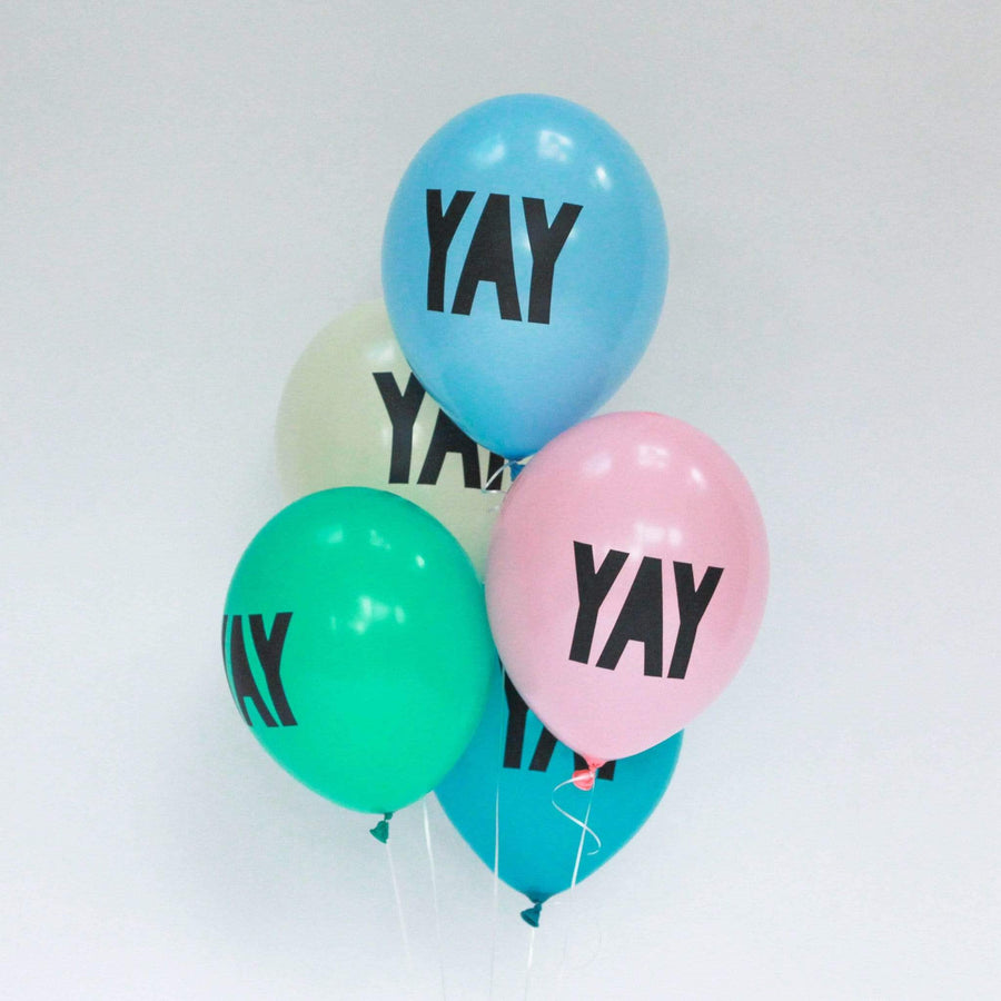 Yay Balloons | Cool Balloons with YAY Script Writing