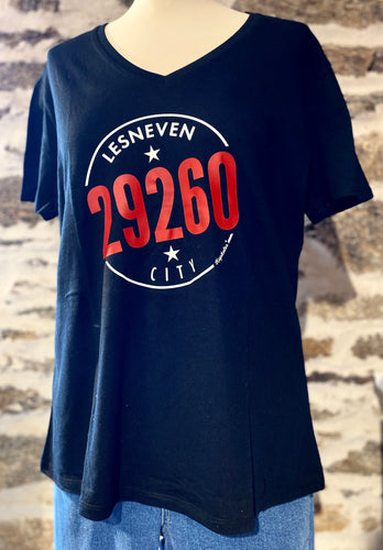 Tee shirt logo 29260 Lesneven city