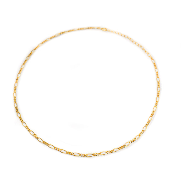 Minimalist Figaro Choker Layering Chain - As Seen on BB22!