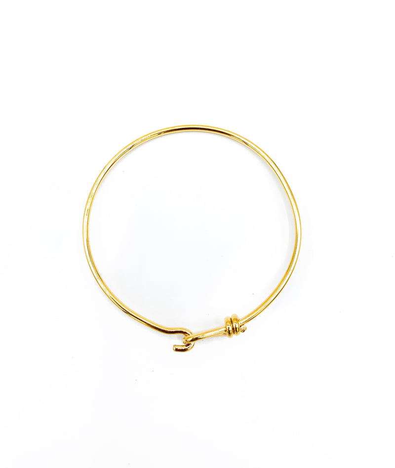 Hook Naut Gold Bangle