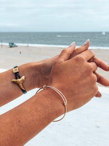 Slip-Naut Expandable Gold Bangle