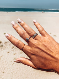 Minimalist Stackable Ring