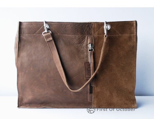 011065  laptop bag brown