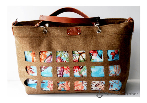 11087  beach bag flowers