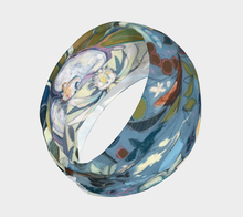 "Load image into Gallery viewer, ANIMAL LOVERS COLLECTION ""Egret Botanical"" Headband"