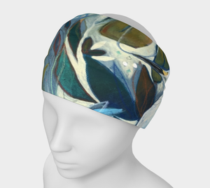 "ANIMAL LOVERS COLLECTION ""Egret Botanical"" Headband"