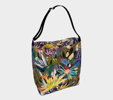 "Load image into Gallery viewer, ""Floral Explosion Botanical"" Neoprene Tote"
