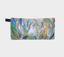 "Load image into Gallery viewer, ""Madonna-A Very Elegant Hen Botanical"" Trinket Purse"