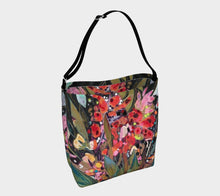 "Load image into Gallery viewer, ""Midnight Garden Botanical"" Neoprene Tote"
