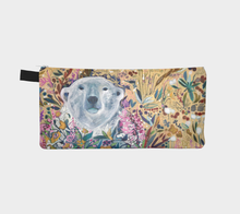 "Load image into Gallery viewer, NEW!! ANIMAL LOVERS COLLECTION ""King of the Summer North Botanical"" Trinket Purse"