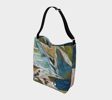 "Load image into Gallery viewer, NEW!! ""Tropical Leaves Botanical"" Neoprene Tote"