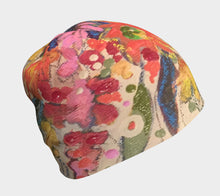 "Load image into Gallery viewer, NEW!! ""Whimsical Floral Botanical"" Beanie"