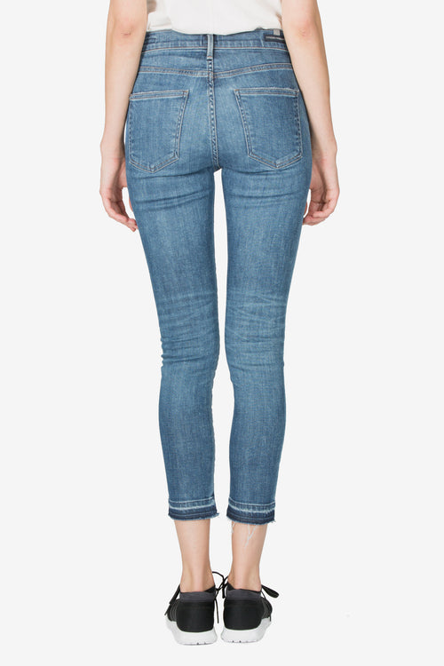 ROCKET CROP HIGH RISE SKINNY - HOTLINE