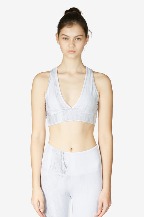 Brooks Crop - Cloud Marble