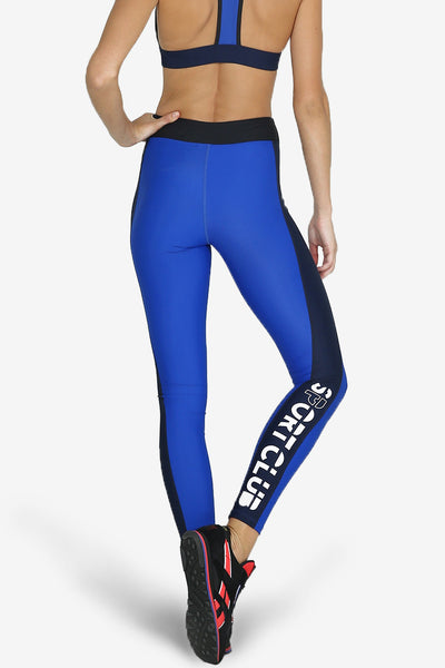 Caught Behind Legging - Blue