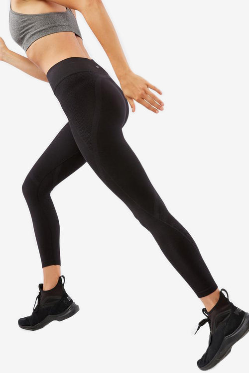 Qualifier Seamless Capri - Black