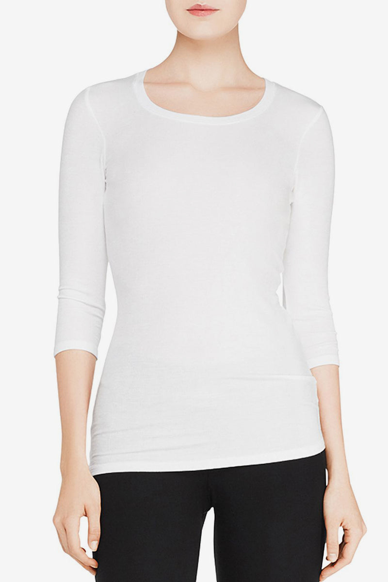 Jackie Ballet Top - White