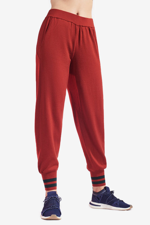 Arctic Trackpant - Dark Red