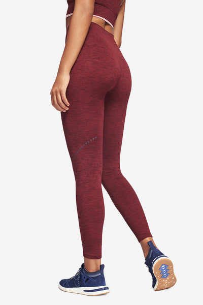 Blackout Legging - Rust Marl