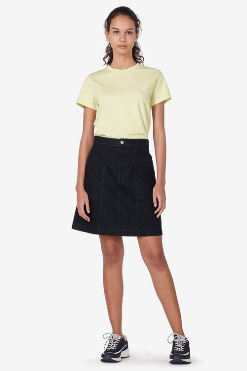 T-shirt Denise - Pale Yellow