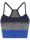 BLOCK SPORTS BRA - NAVY