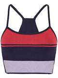 BLOCK SPORTS BRA - RED