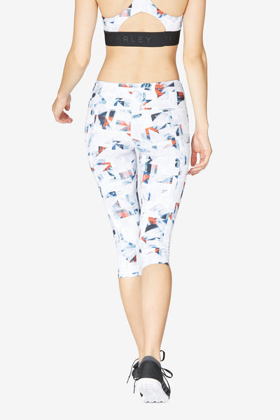 Willoughby Capri Tight - Geo Print