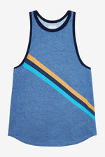 WARM UP TANK - BLUE MARL