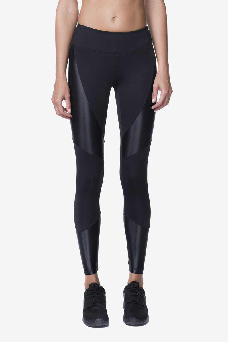 FORGE MID RISE LEGGING - BLACK