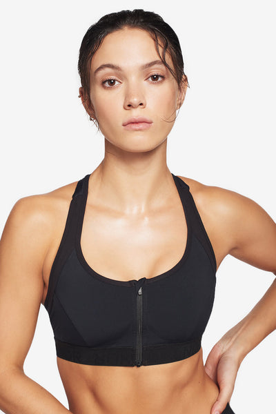 Hype Sports Bra - Black
