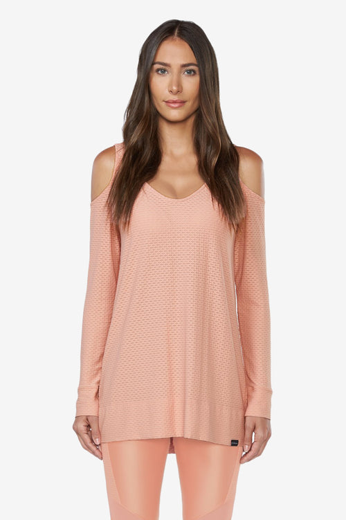 Show Off Sweat Dress - Cameo