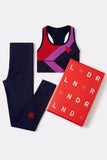 *限量版* Sports Bra & Leggings - Navy marl