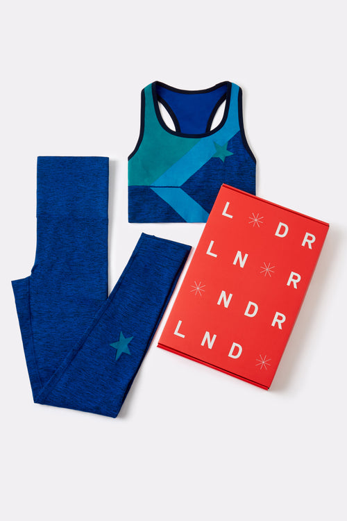 *限量版* Sports Bra & Leggings - Cornflower blue