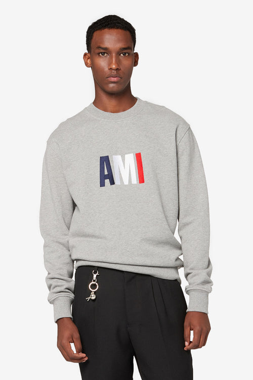 Ami Embroidery Sweatshirt