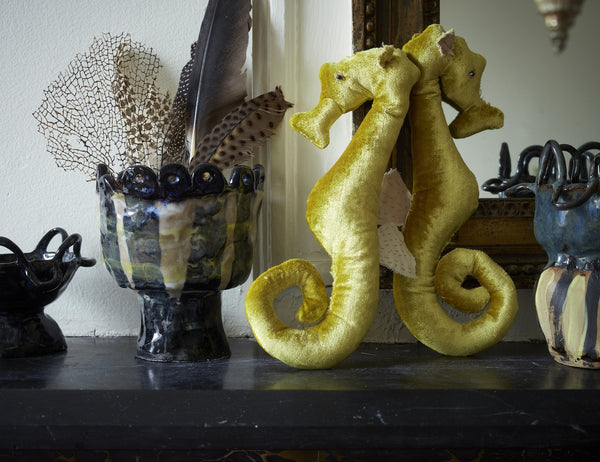 Seahorse In velvet, in various colors