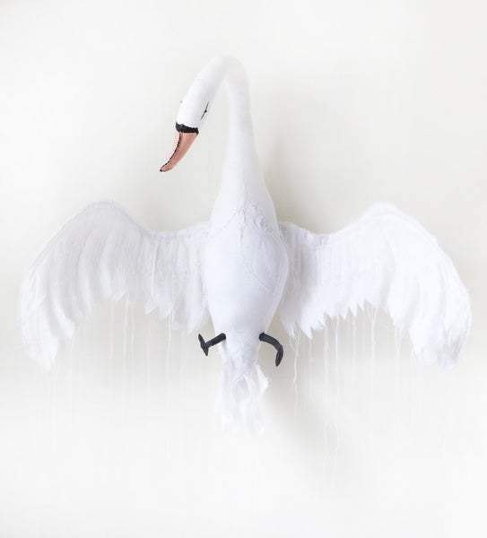 Wall mounted Swan White
