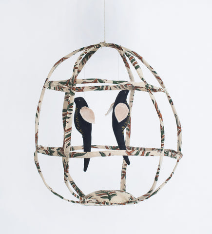 Large Bird cage In pattern
