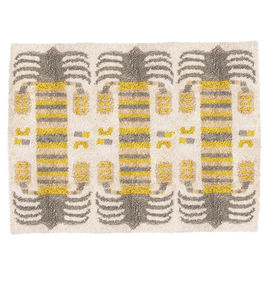 Date Palm Rug - Gray canopy