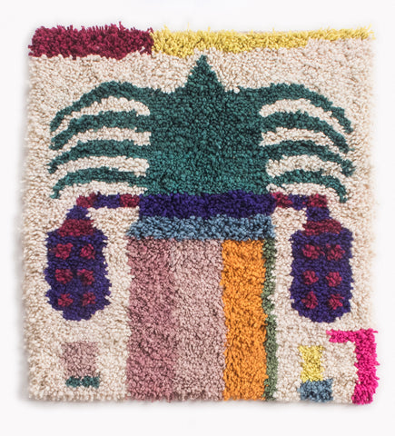 Date Palm Rug -Single, Green Canopy