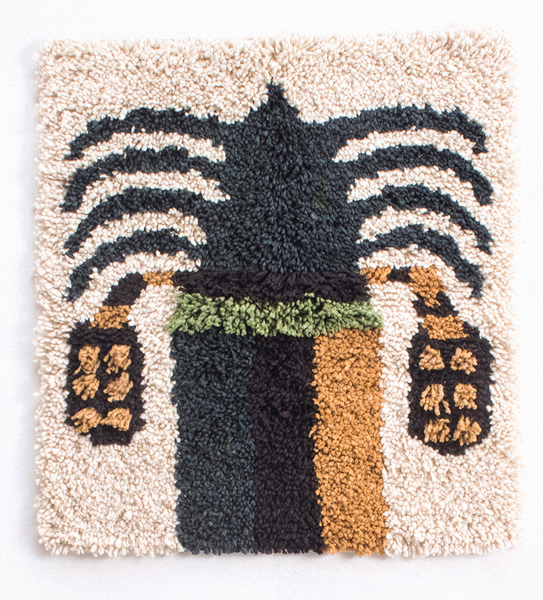 Date Palm Rug - Naturals