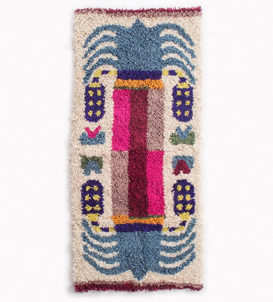 Date Palm Rug - Blue Canopy