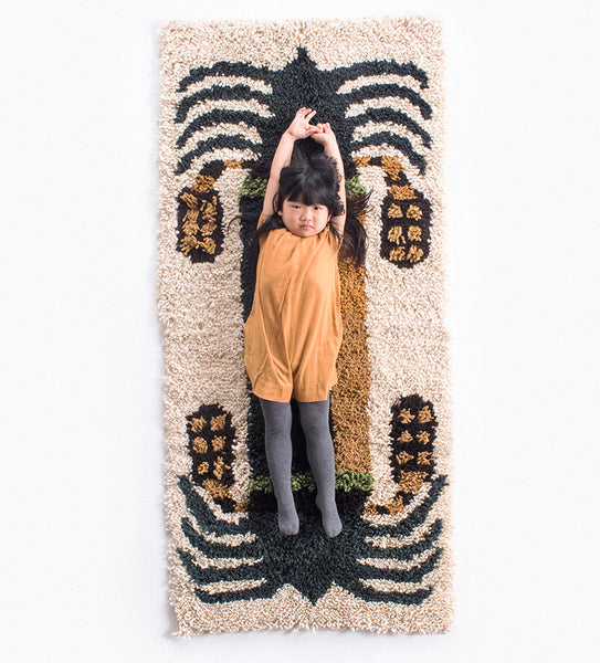 Date Palm Rug -Double, Naturals