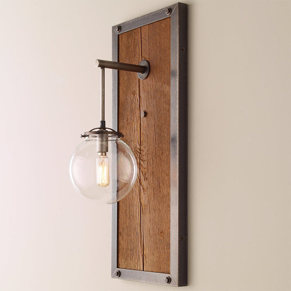 RECTANGULAR INDUSTRIAL SCONCE - LARGE